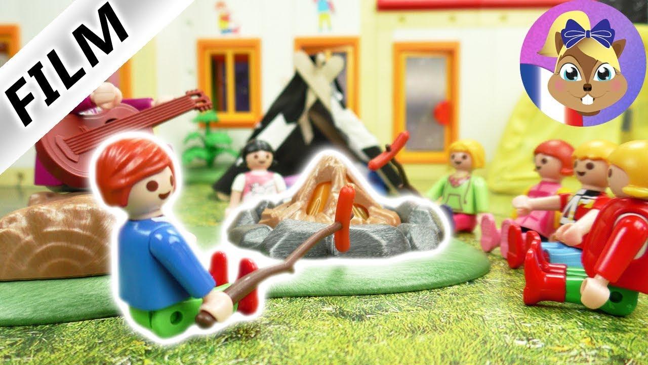 Film Playmobil En Français | Camper Avec Julian Brie | Passer La Nuit Au  Jardin D'enfants | Série serapportantà Jardin D Enfant Playmobil