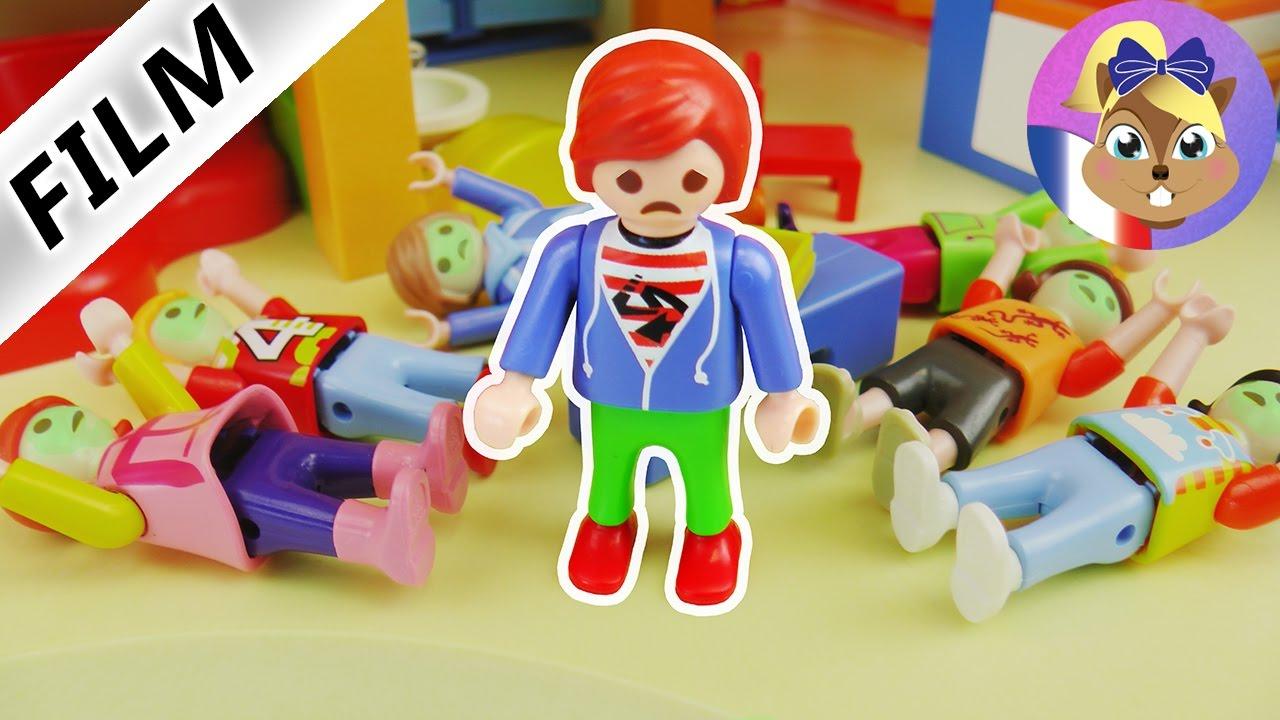 Film Playmobil - Intoxication Alimre Au Jardin D'enfants! Famille Brie avec Playmobil Jardin D Enfant