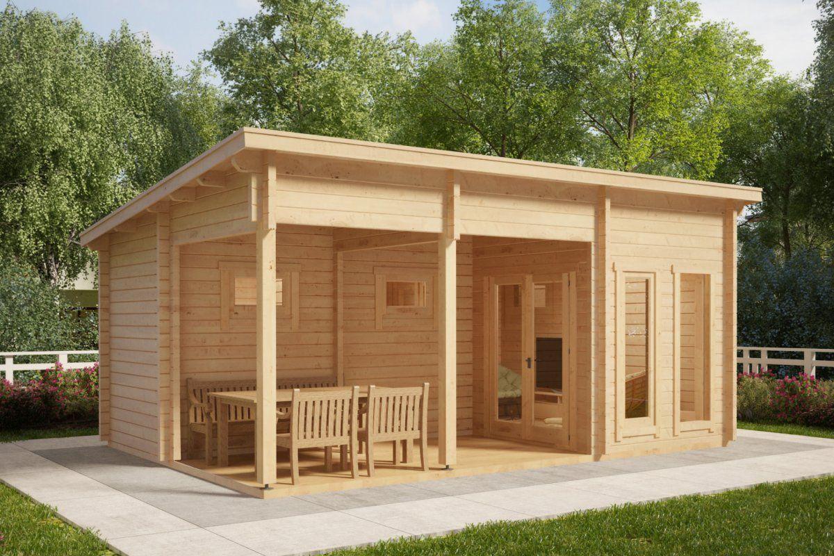 Finnish Sauna Cabin Oliver I 15M2 / 70Mm / 6 X 4 M | Outdoor ... destiné Abri De Jardin Metal 15M2