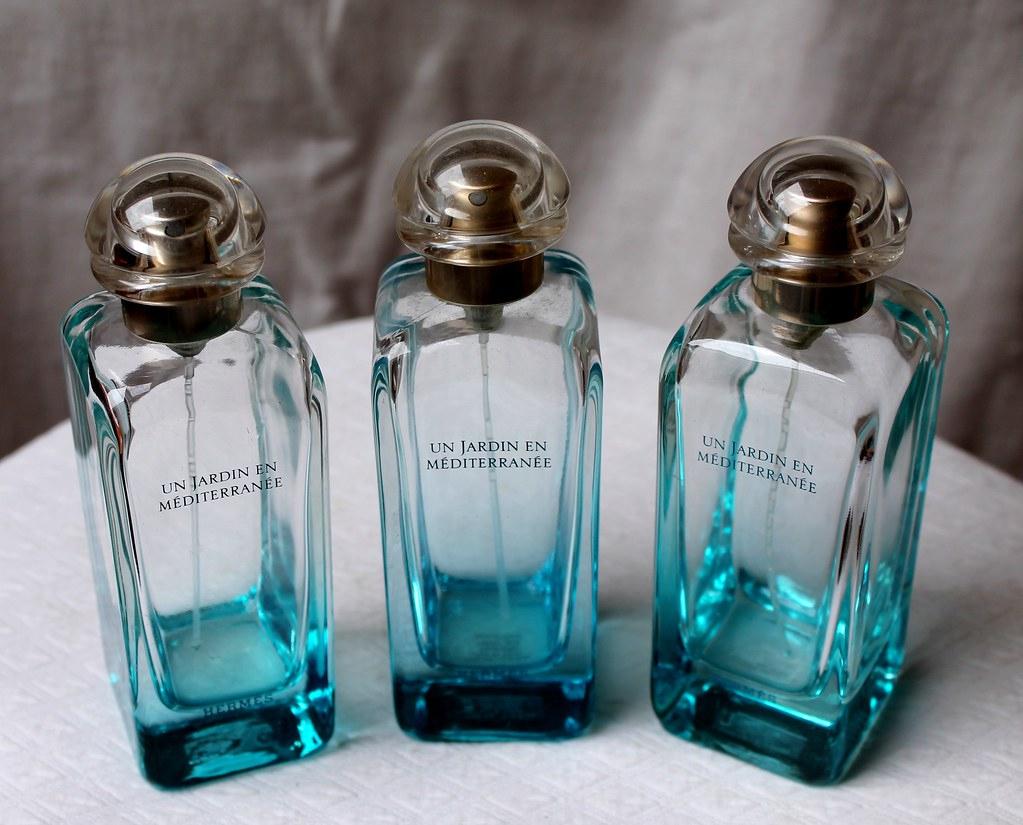 Flacons De Parfum Un Jardin En Mediterranee Hermes - Franc ... destiné Un Jardin En Méditerranée