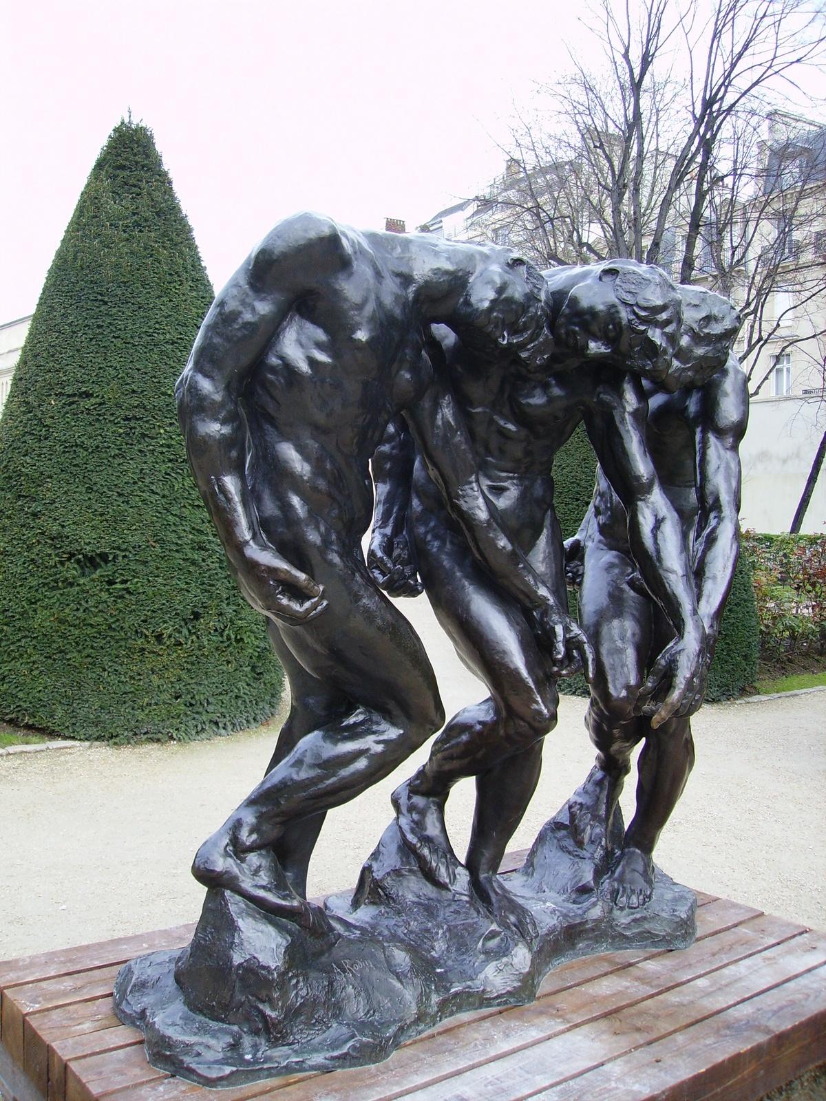 Flâner Dans Les Jardins... Au Musée Rodin - Cartridge World ... serapportantà Statues De Jardin Occasion
