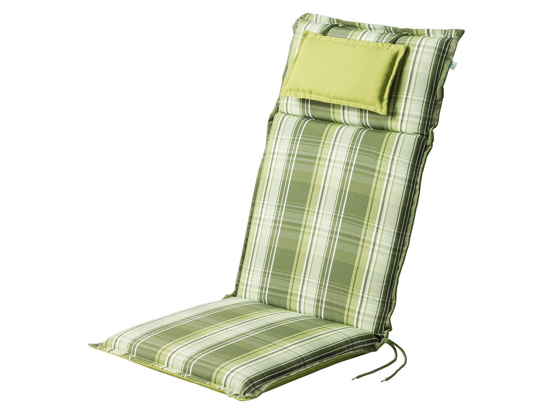 Florabest® Coussin Pour Chaise De Jardin 120 X 50 Cm (Vert) à Coussin Pour Fauteuil De Jardin Haut Dossier