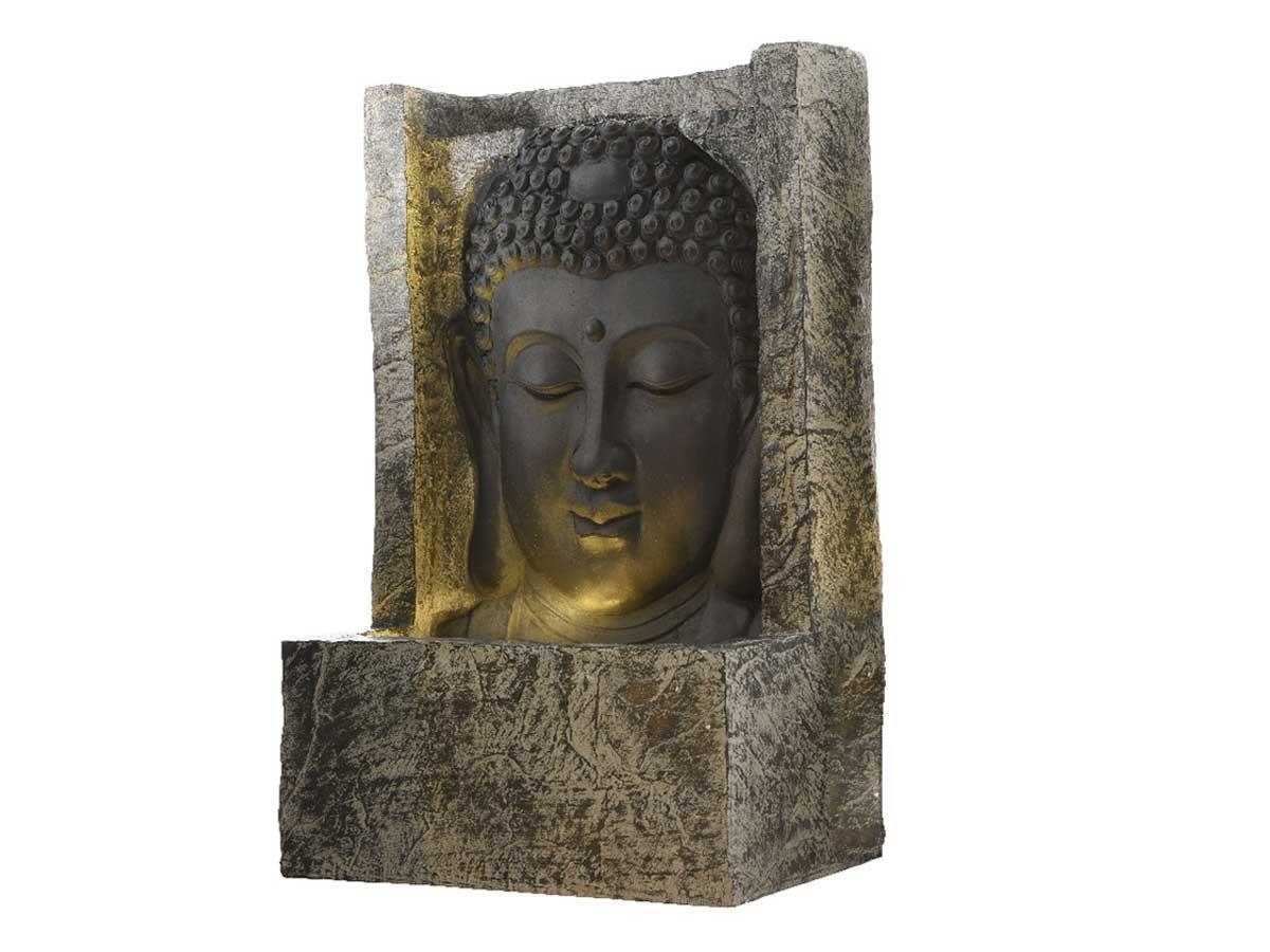 Fontaine De Jardin Bouddha - destiné Tete De Bouddha Pour Jardin