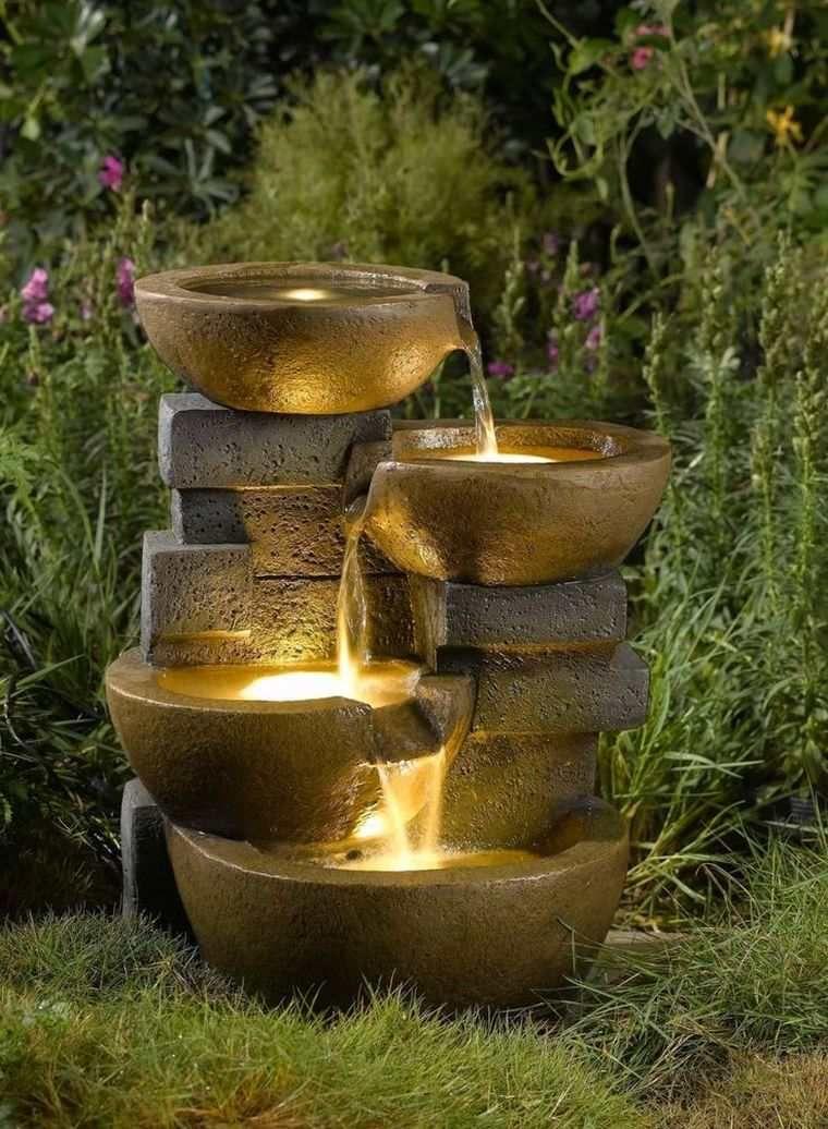 Fontaine De Jardin Et Décoration Zen Pour Extérieur ... intérieur Fontaine Solaire Exterieur Jardin