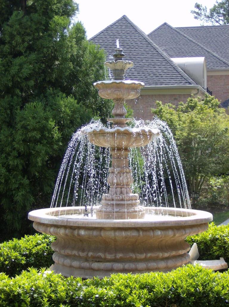 Fontaine De Jardin : Installer Une Fontaine Dans Son Jardin ... serapportantà Petite Fontaine De Jardin