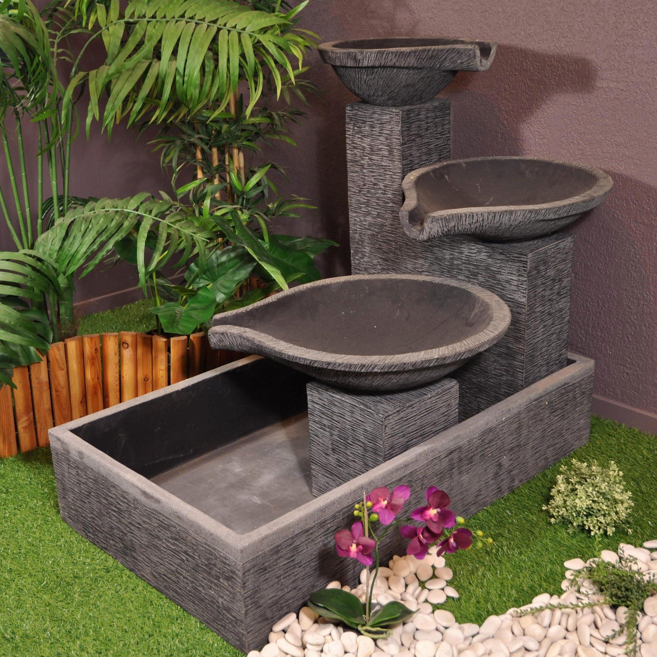 Fontaine Exterieur Moderne Lgant Dco De Jardin Extrieur ... à Fontaine Exterieure De Jardin Moderne