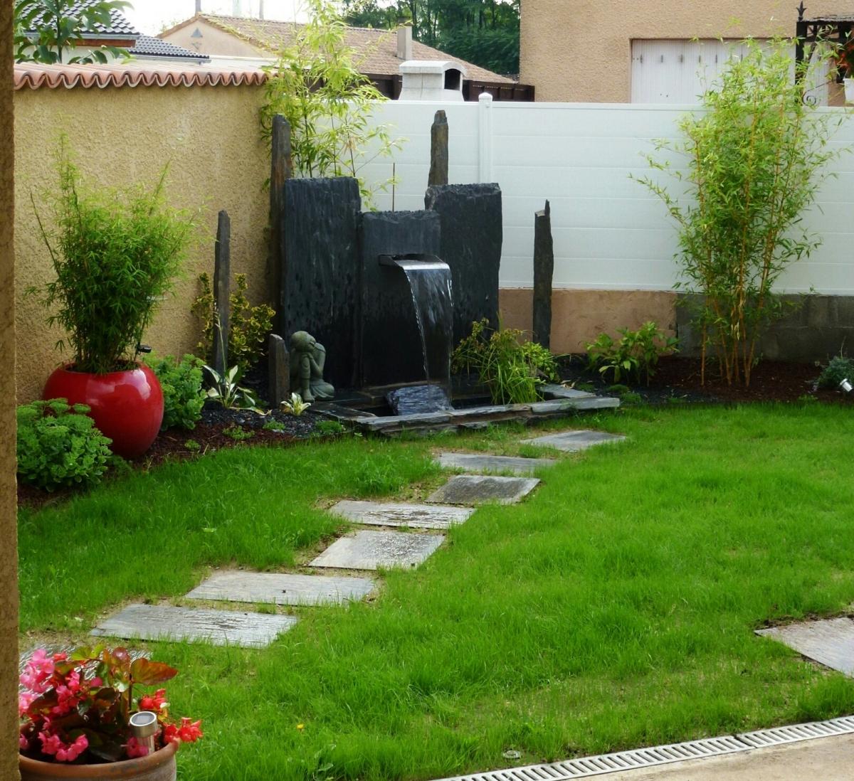 Fontaine Jardin Japonais Fontaine Japonaise Zen Petit Jardin ... concernant Fontaine Jardin Japonais
