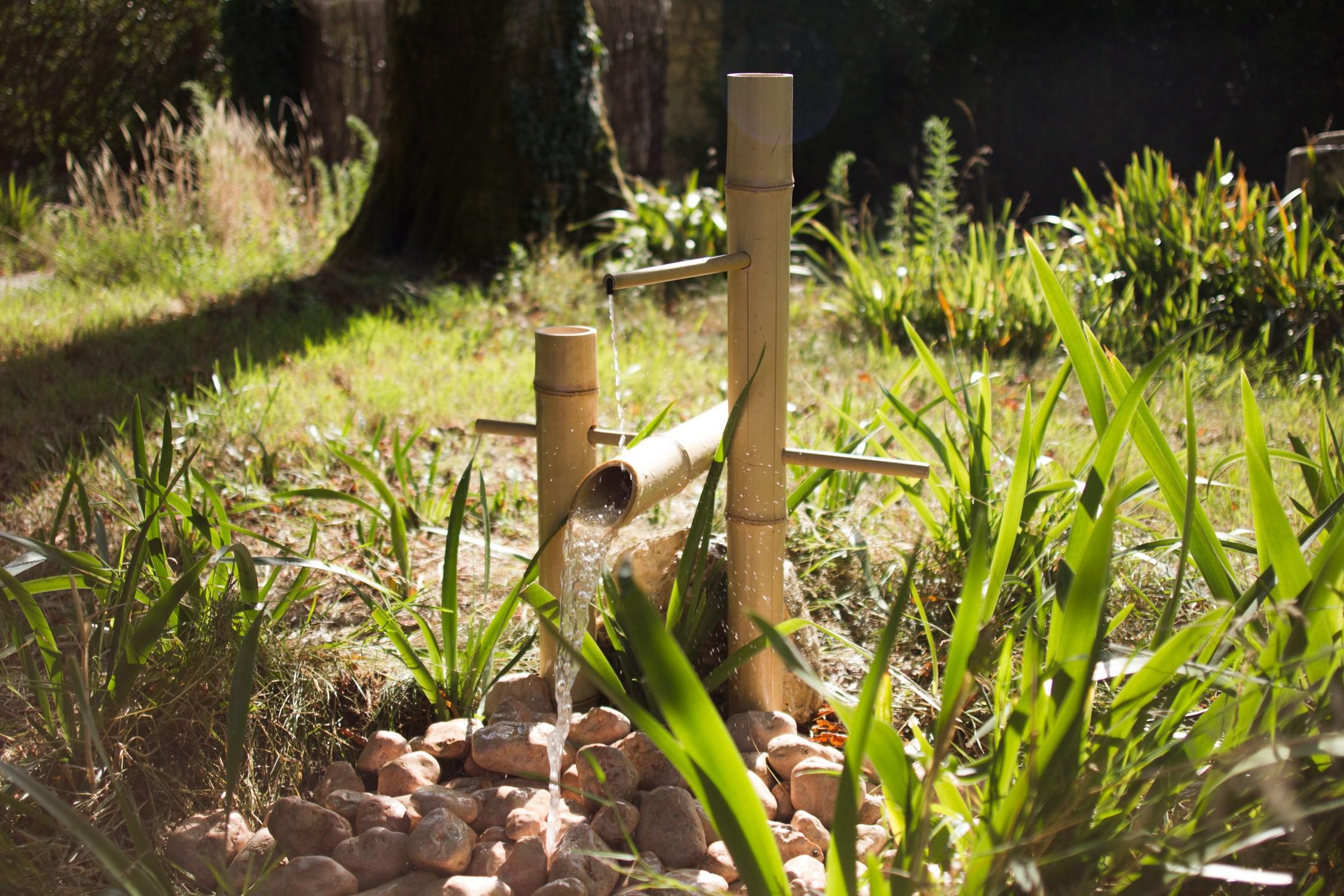 Fontaine Jardin Japonais Jardin Zen Fabriquer Une Fontaine ... dedans Fabriquer Une Fontaine De Jardin