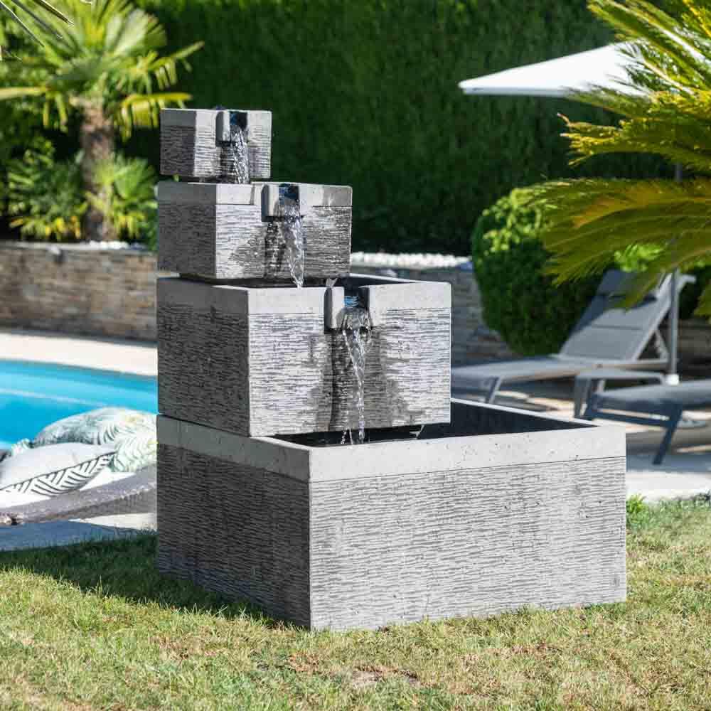 Fontaine Jardin Japonais Schème - Idees Conception Jardin dedans Construire Fontaine De Jardin