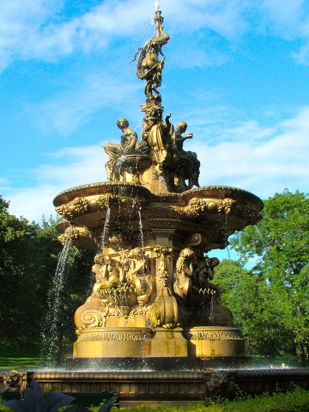 Fontaine Ross — Wikipédia destiné Fontaine De Jardin En Fonte