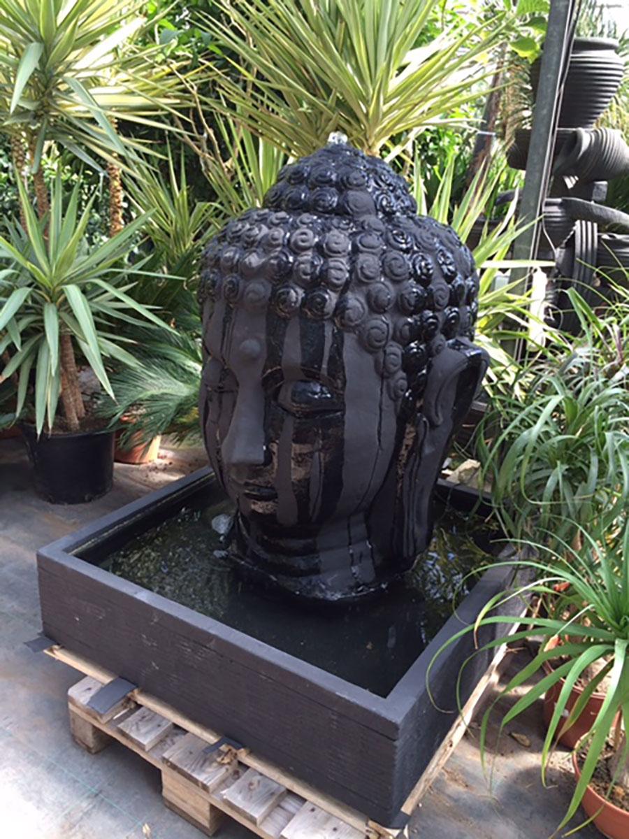 Fontaine Tête De Bouddha - Dewi - L'esprit Jardin concernant Fontaine De Jardin Bouddha