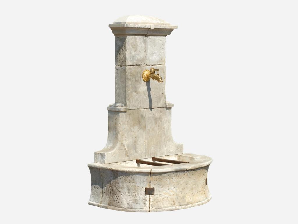 Fontaine Venise | Roc De France destiné Fontaine De Jardin En Pierre Reconstituée