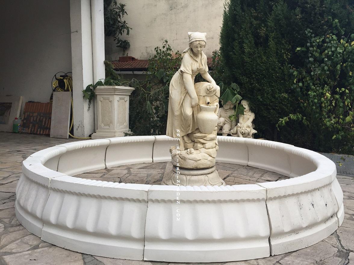 Fontaines De Jardin En Pierre Reconstituee Catherine-A serapportantà Fontaine De Jardin En Pierre Reconstituée