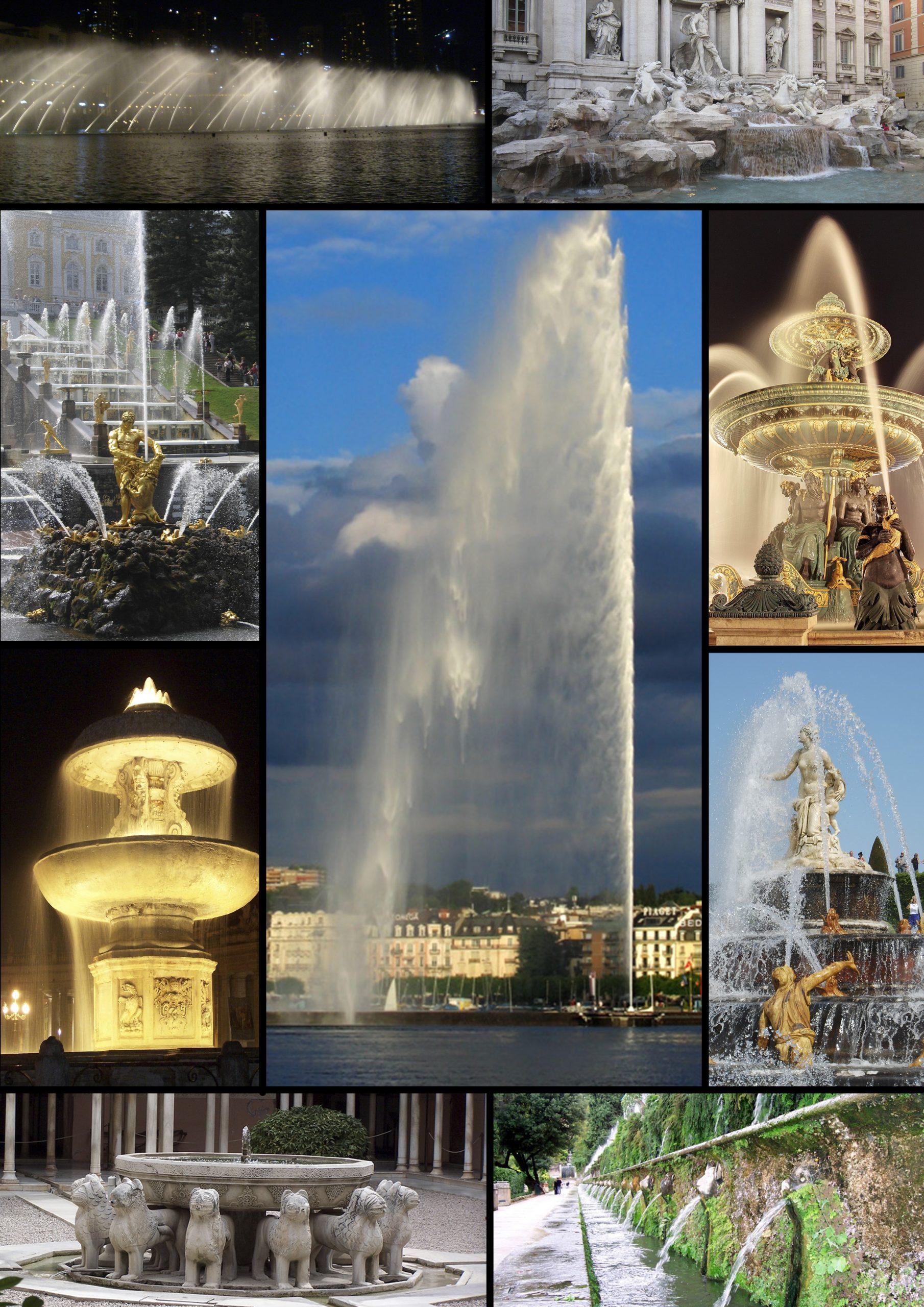 Fountain - Wikipedia concernant Jet D Eau Pour Fontaine De Jardin