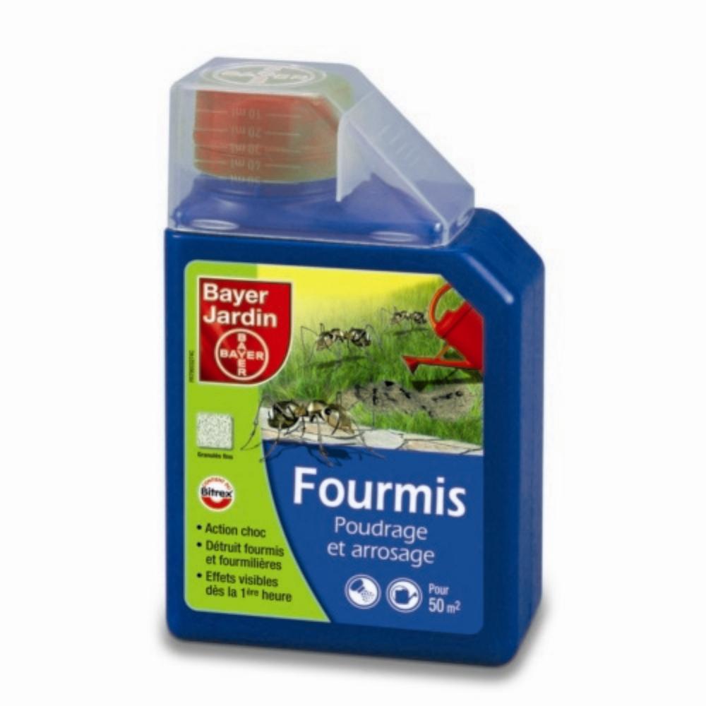 Fourmis Poudrage & Arrosage Granulés Fins Bayer Jardin 400 G pour Anti Fourmi Jardin