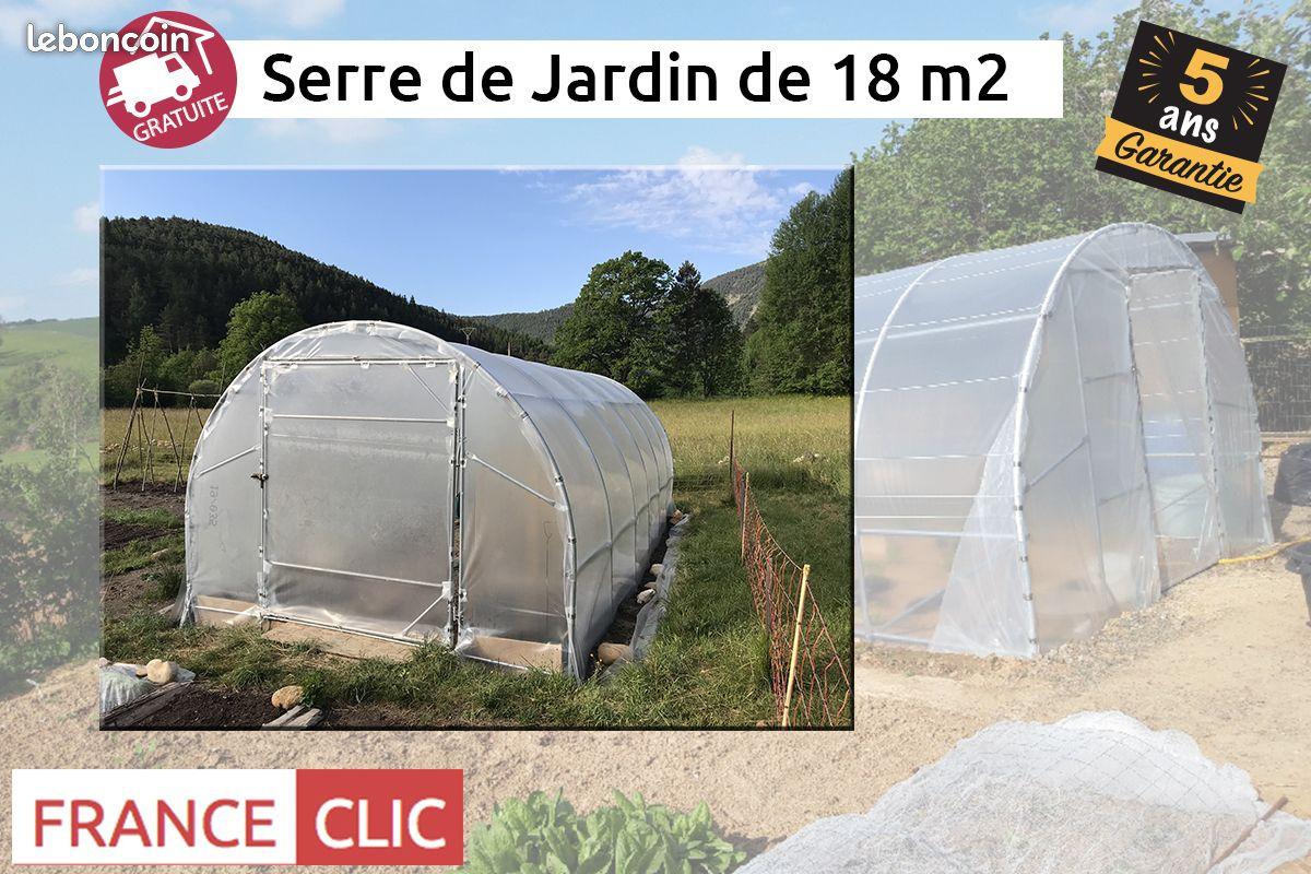 France Clic - Pro Leboncoin intérieur Serre De Jardin 18M2
