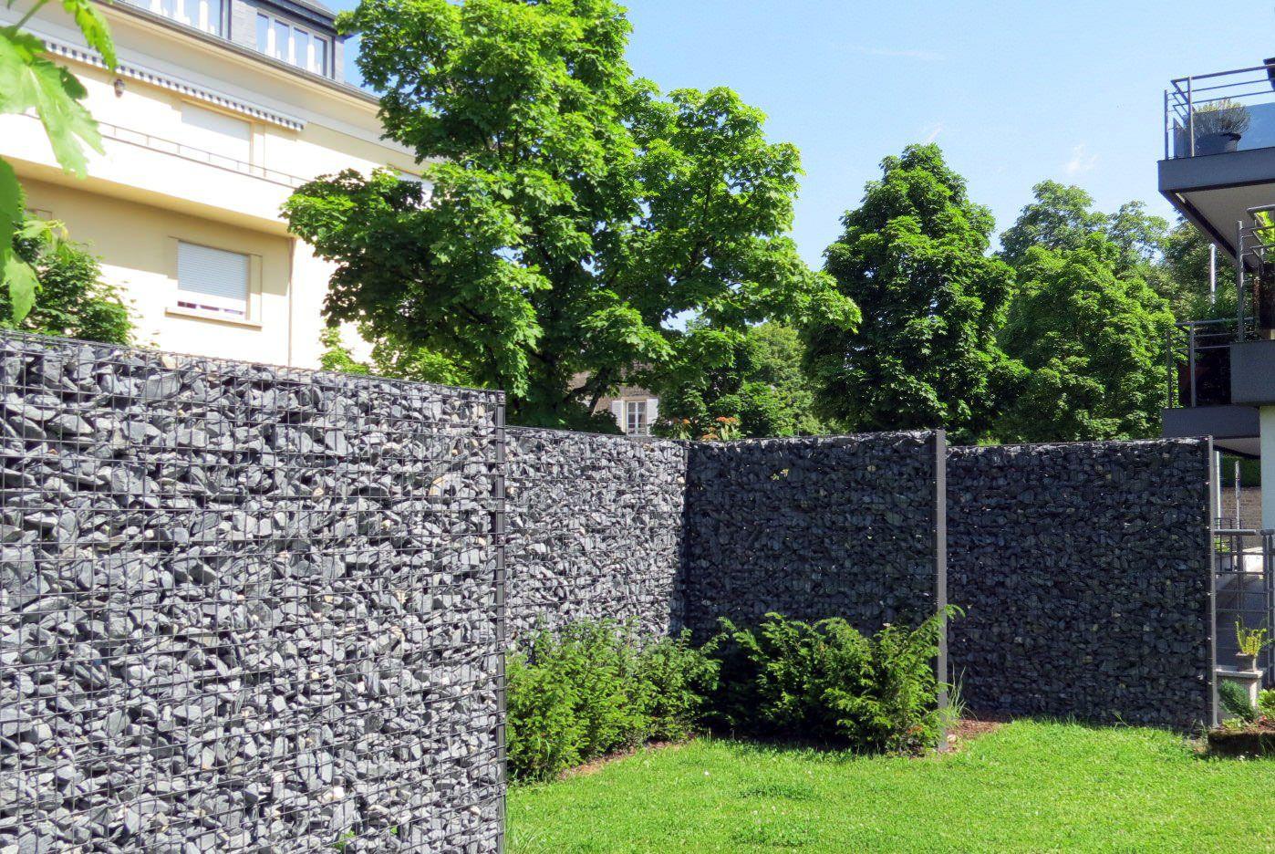 Gabion Clôture Palissade .vereal.lu Jardin Et Forêt ... dedans Cloture Jardin Luxembourg