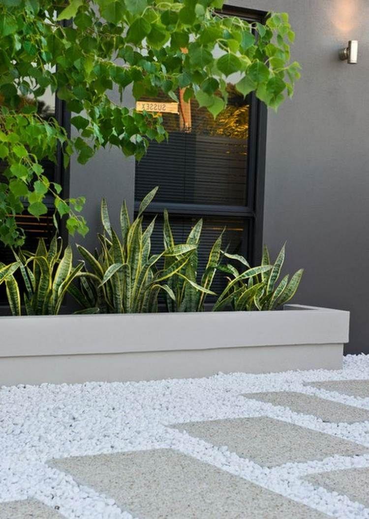Galet Décoratif Blanc: Plus De 45 Idées Pour Vous Inspirer ... pour Galet Blanc Jardin