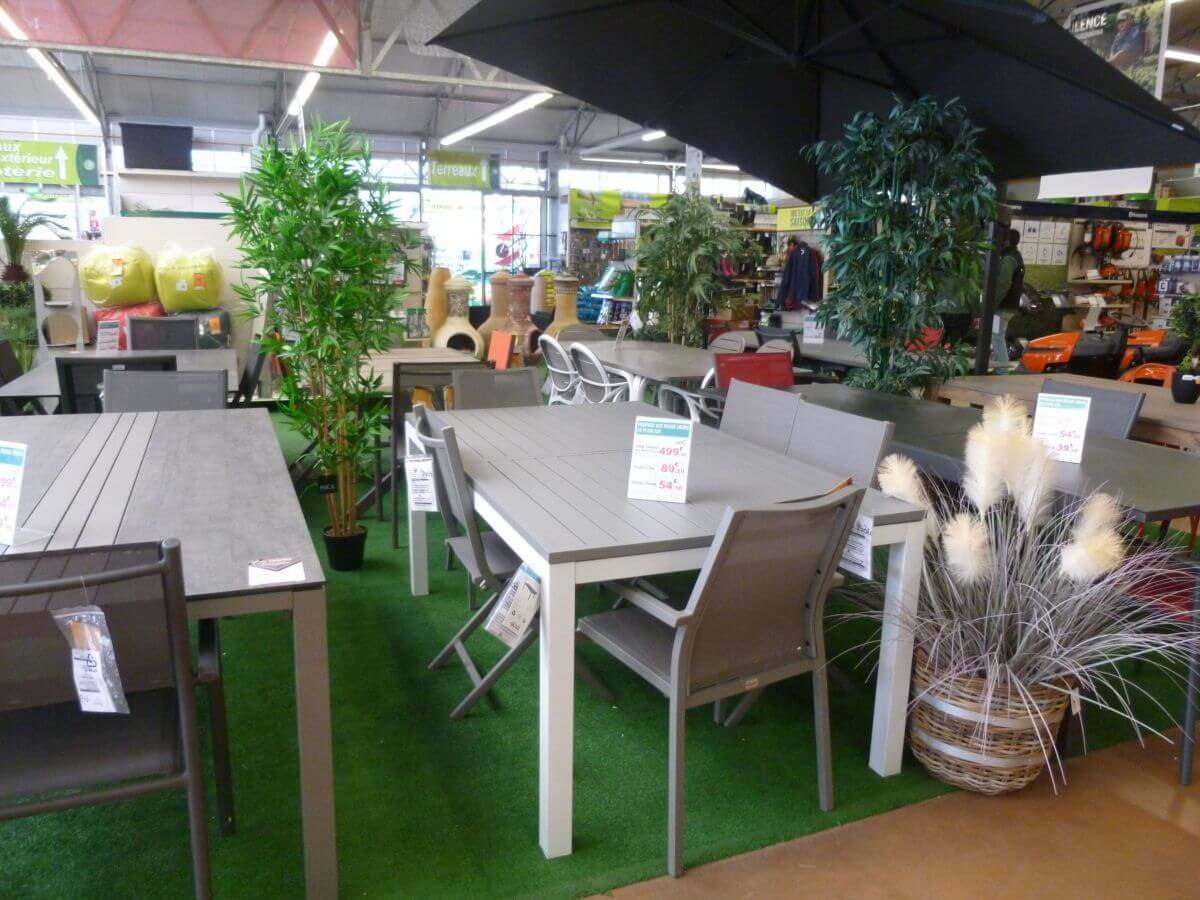 Gamm Vert Les Herbiers Magasin Du Réseau Gamm Vert Cavac intérieur Gamm Vert Salon De Jardin