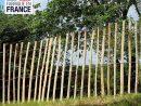Ganivelle - Cloture En Châtaignier à Panneau Jardin Pas Cher