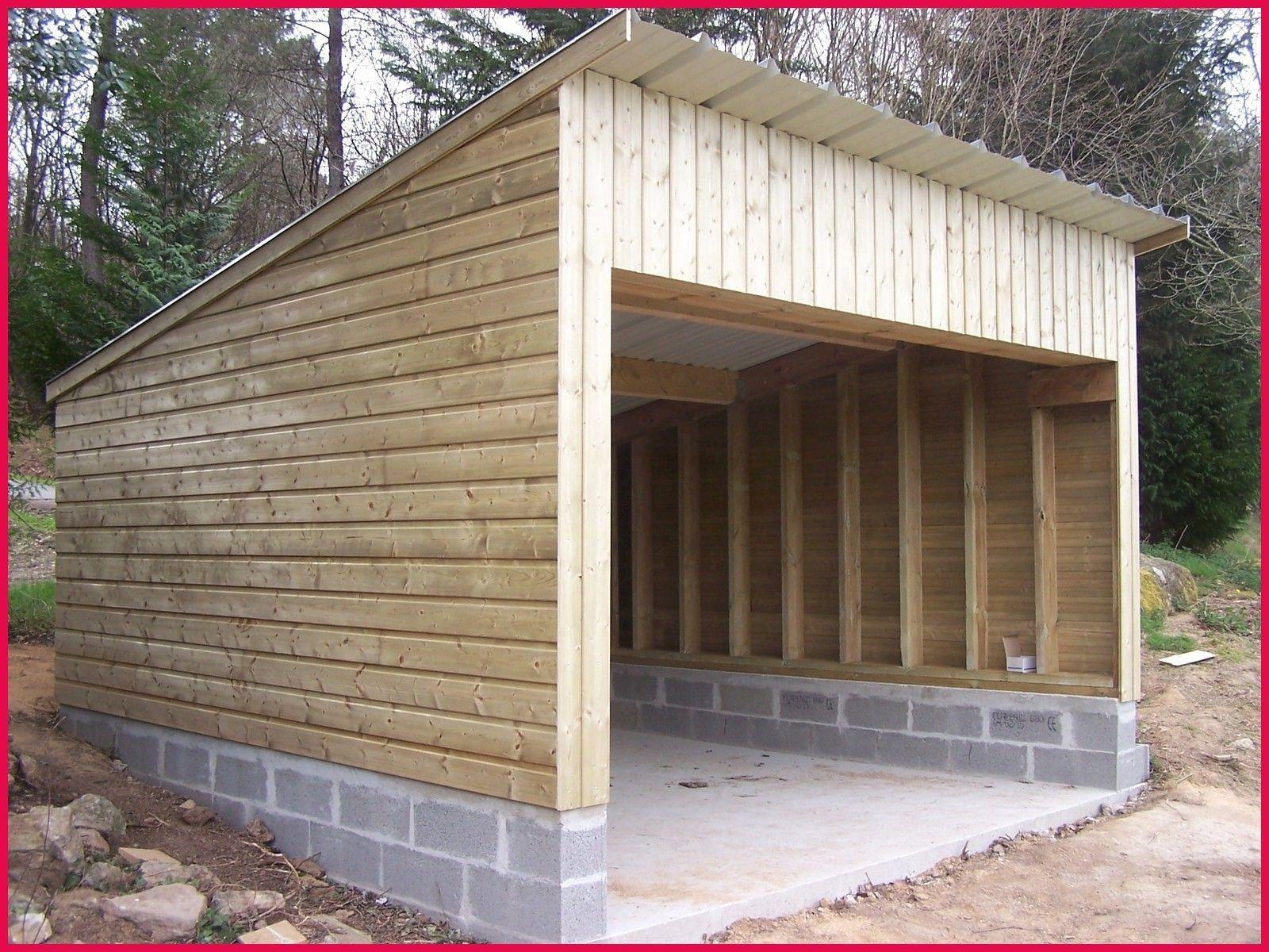 Garage Bois Ou Parpaing Sportsfactoryco Comment Construire ... dedans Abri De Jardin Prefabrique En Beton