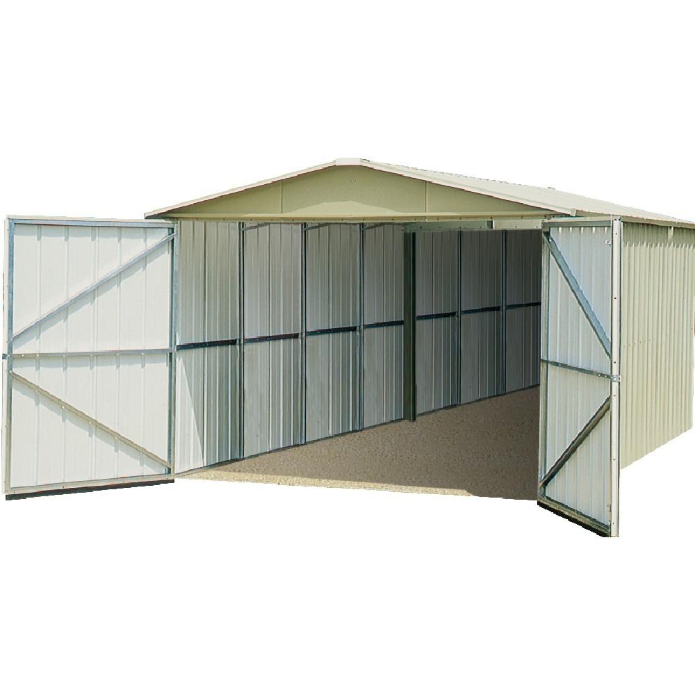 Garage Métal 15,5 M² Trigano pour Trigano Abri De Jardin