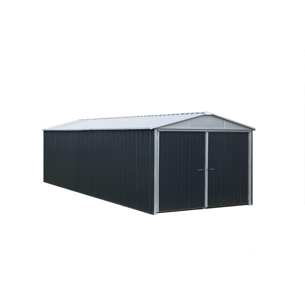 Garage Métal Trigano Yardmaster 15.50M² serapportantà Trigano Abri De Jardin