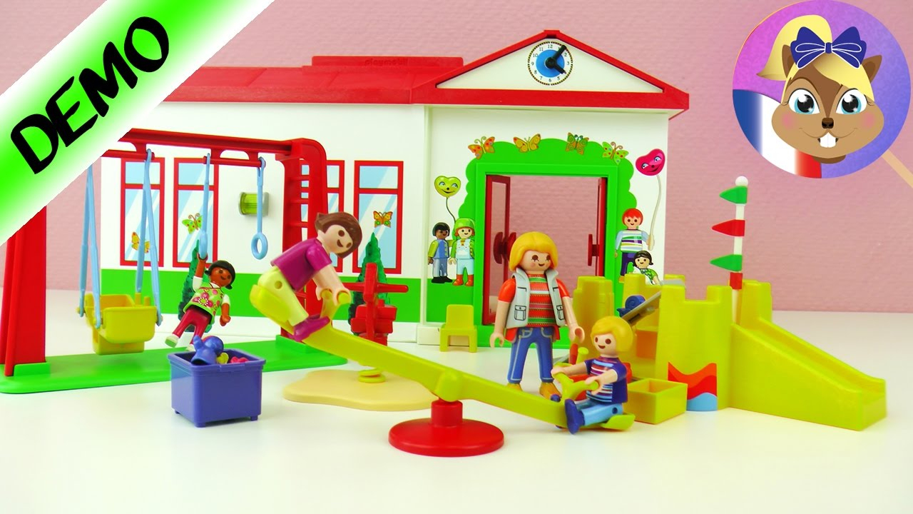 Garde D'enfants Playmobil Jardin D'enfants Jeu De Groupe - Emma Bientôt Au  Jardin D'enfants? tout Jardin D Enfant Playmobil