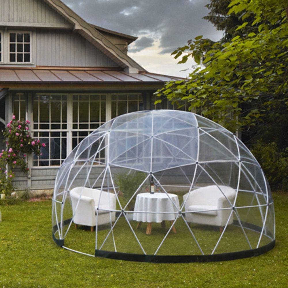 Garden Igloo Tente Transparente Jardin D'hiver, Abri, Serre ... concernant Tente Abris De Jardin