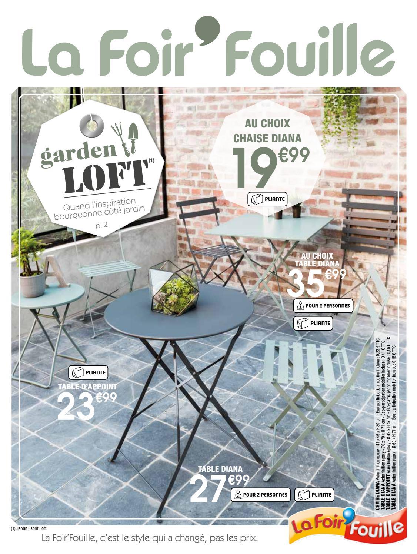 Garden Loft By La Foir'fouille - Issuu encequiconcerne Salon De Jardin La Foir Fouille