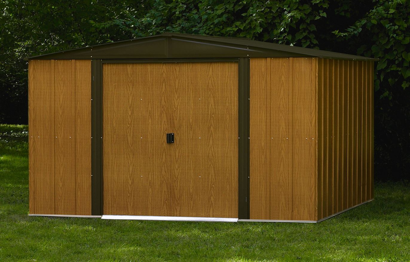 Garden Shed Arrow Wl1010 Direct Usa à Abri De Jardin Arrow