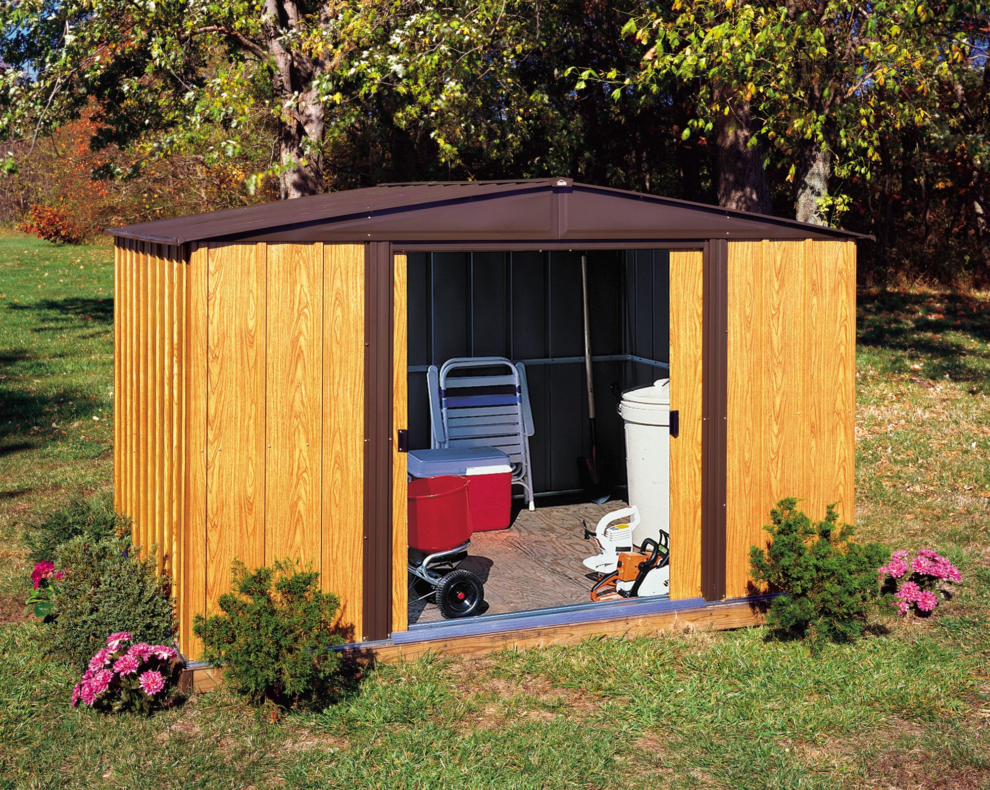 Garden Shed Arrow Wl108 dedans Abri De Jardin Arrow