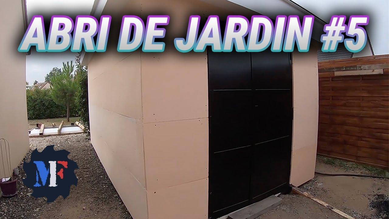 Garden Shed Construction - Part 5 avec Abri Jardin Composite