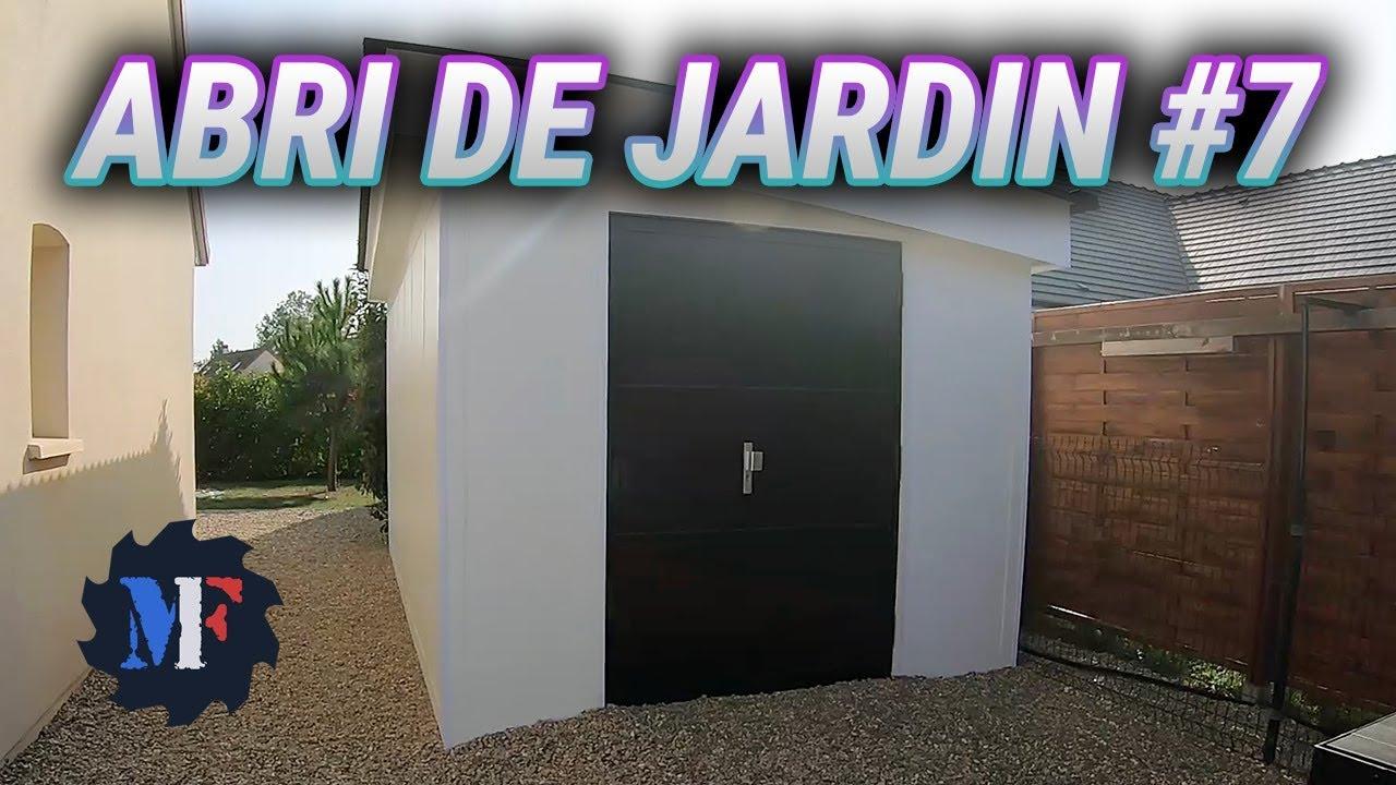 Garden Shed Construction - Part 7 pour Abri Jardin Composite