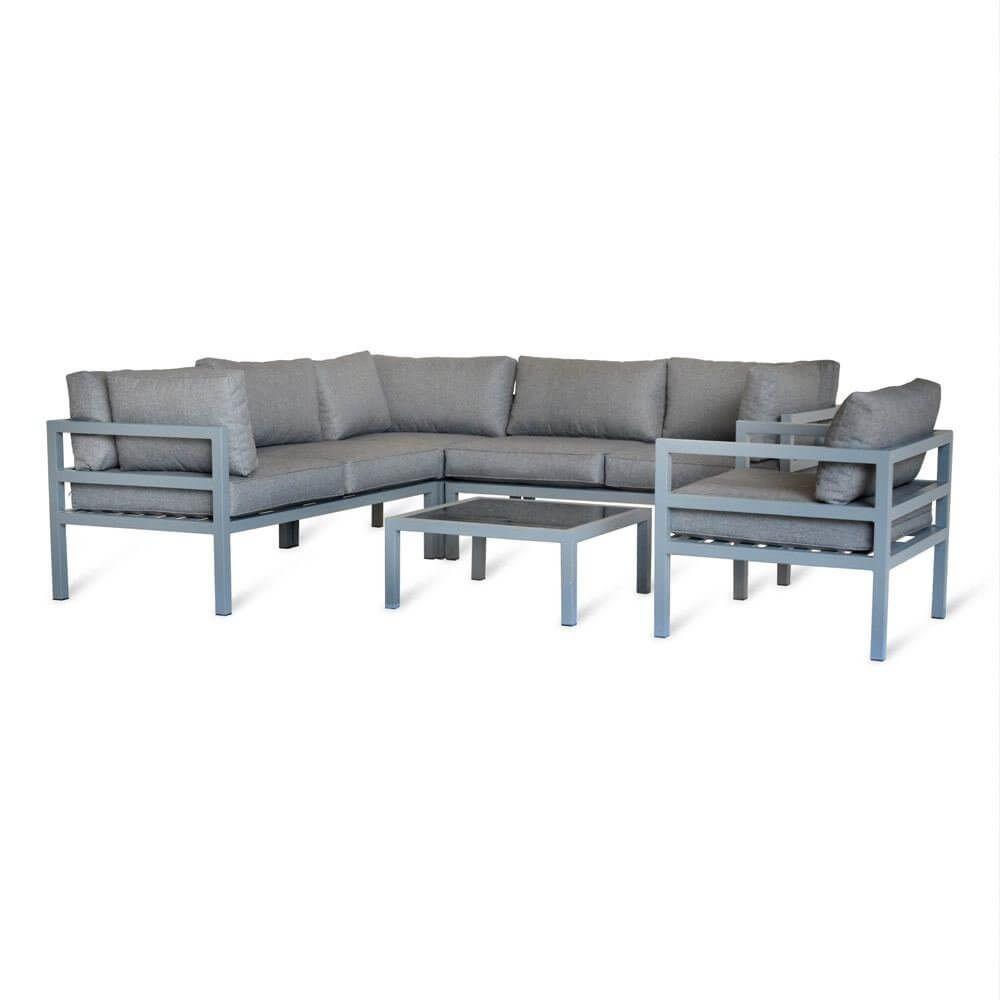 Garden Trading West Strand Corner Sofa Set Aluminium ... à Salon De Jardin Artelia