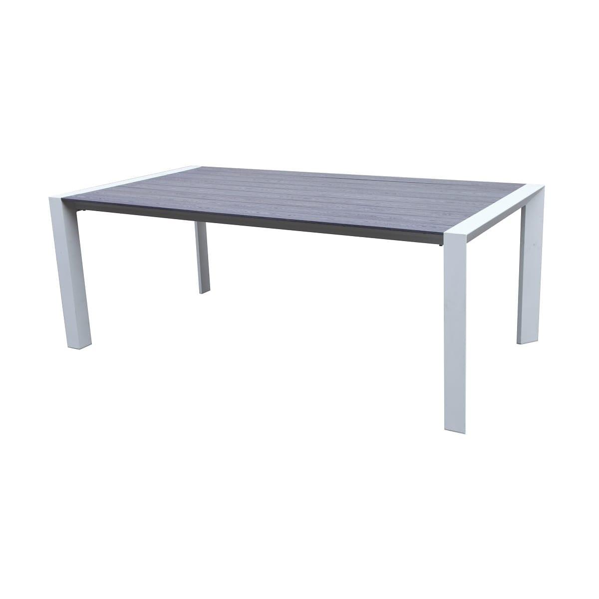 Gardenstar Table De Jardin 200X100X74Cm Imitation Bois Woodland avec Chaise De Jardin Auchan