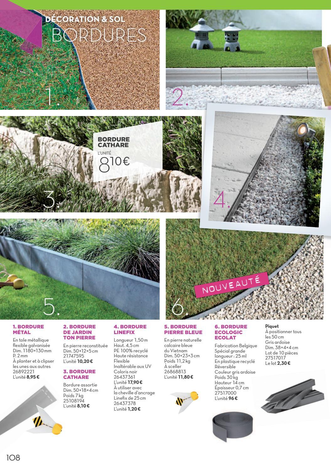 Gedimat - Laguarigue : Extérieur 2016 By Momentum Média - Issuu encequiconcerne Bordure De Jardin Gedimat