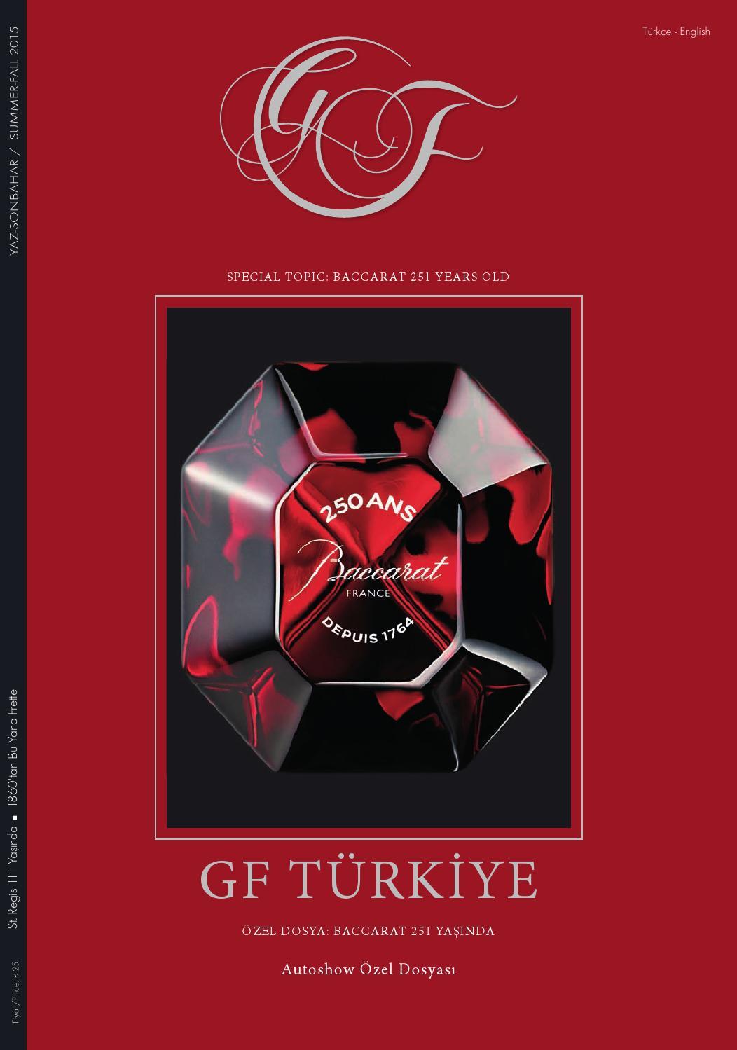 Gf Edition Turkiye For Connaisseurs Summerfall 2015 By Gf ... intérieur Salon De Jardin En Promotion