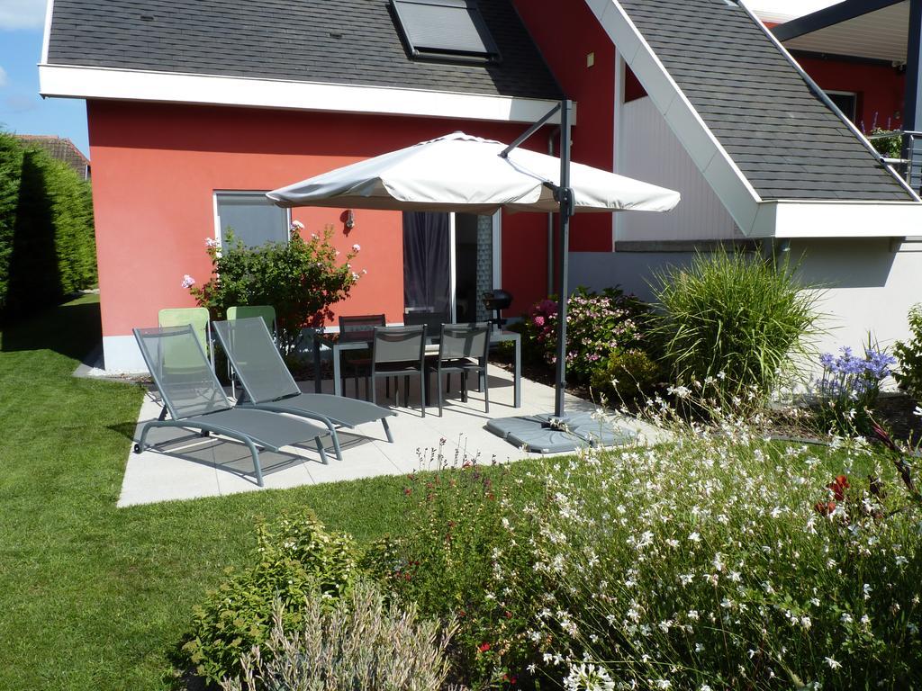Gîte Du Grand Jardin (Fransa Fortschwihr) - Booking à Salon De Jardin Blanc Carrefour