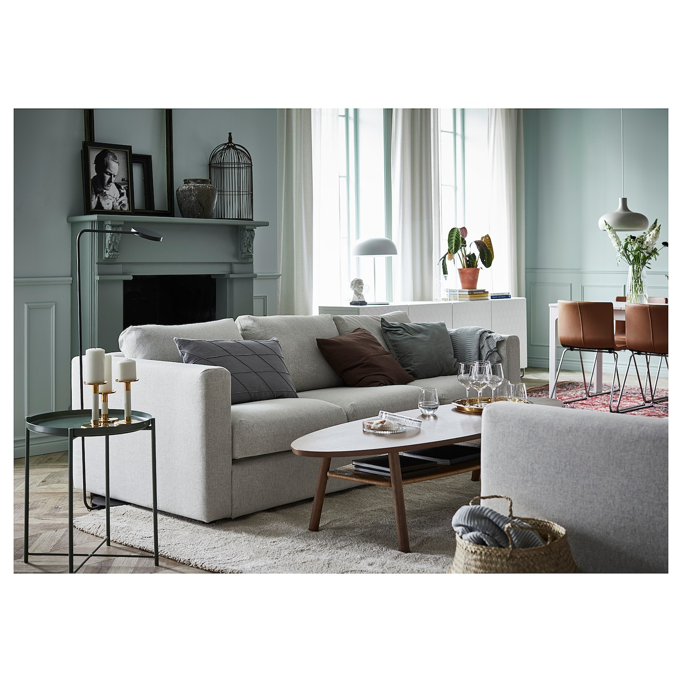 Gladom Table/plateau - Vert Foncé 45X53 Cm destiné Mobilier De Jardin Ikea