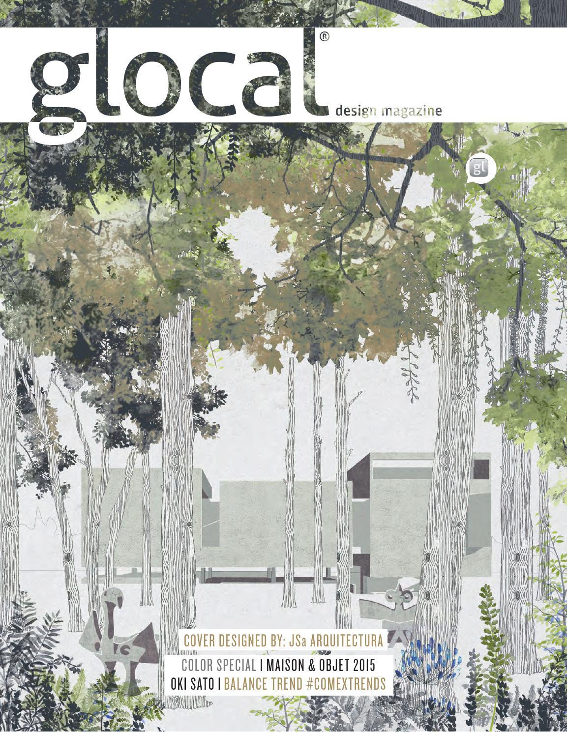 Glocal Design Magazine No. 25_En Cover By: Jsa Arquitectura ... serapportantà Vima Salon De Jardin