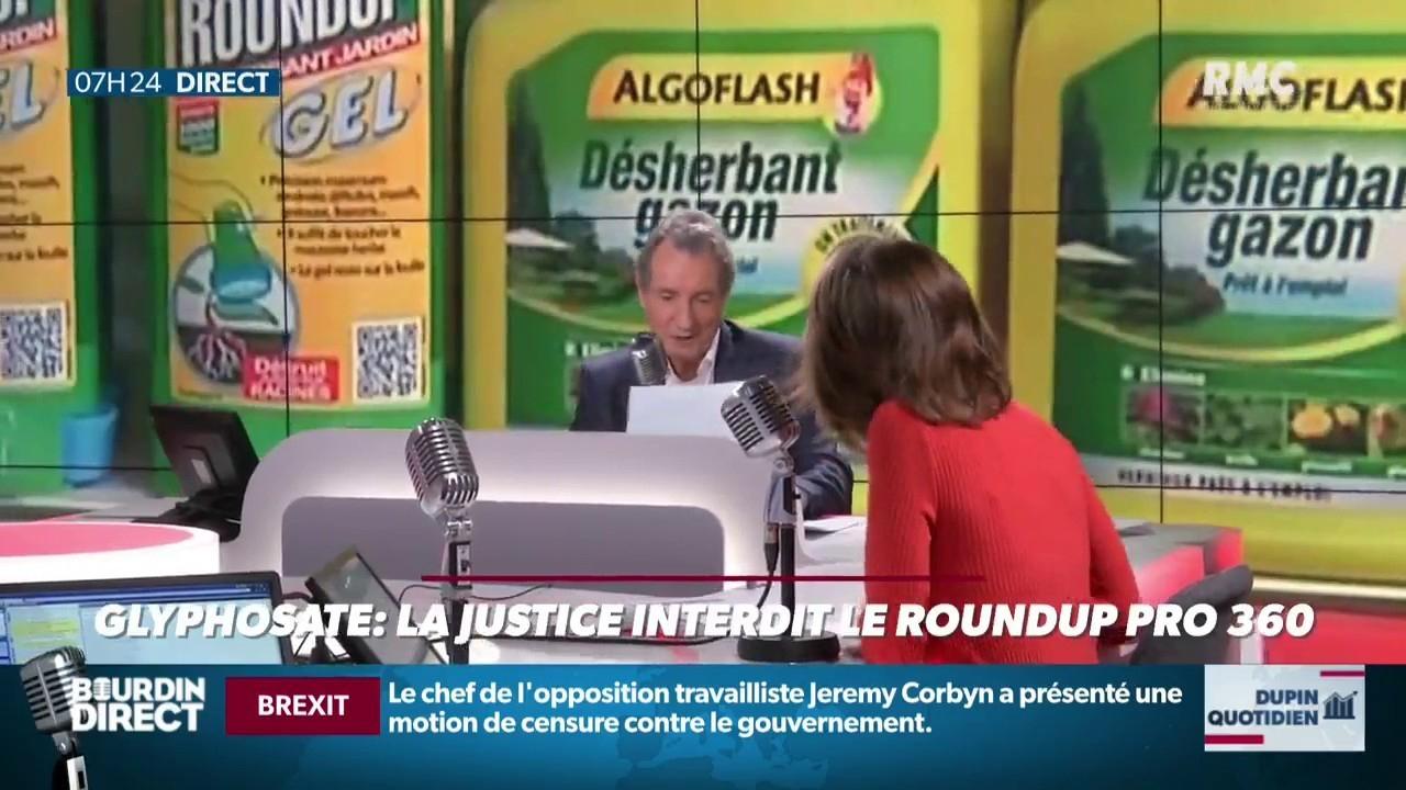 Glyphosate: La Justice Interdit Le Roundup Pro 360 encequiconcerne Bayer Jardin Desherbant Gazon