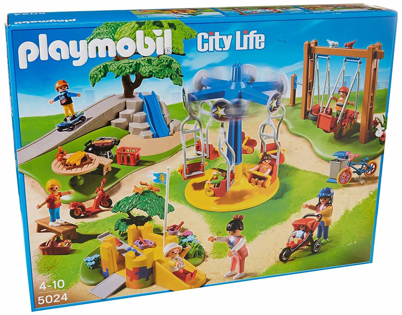 Grand Jardin D'enfants - Playmobil Dans La Ville 5024 à Playmobil Jardin D Enfant