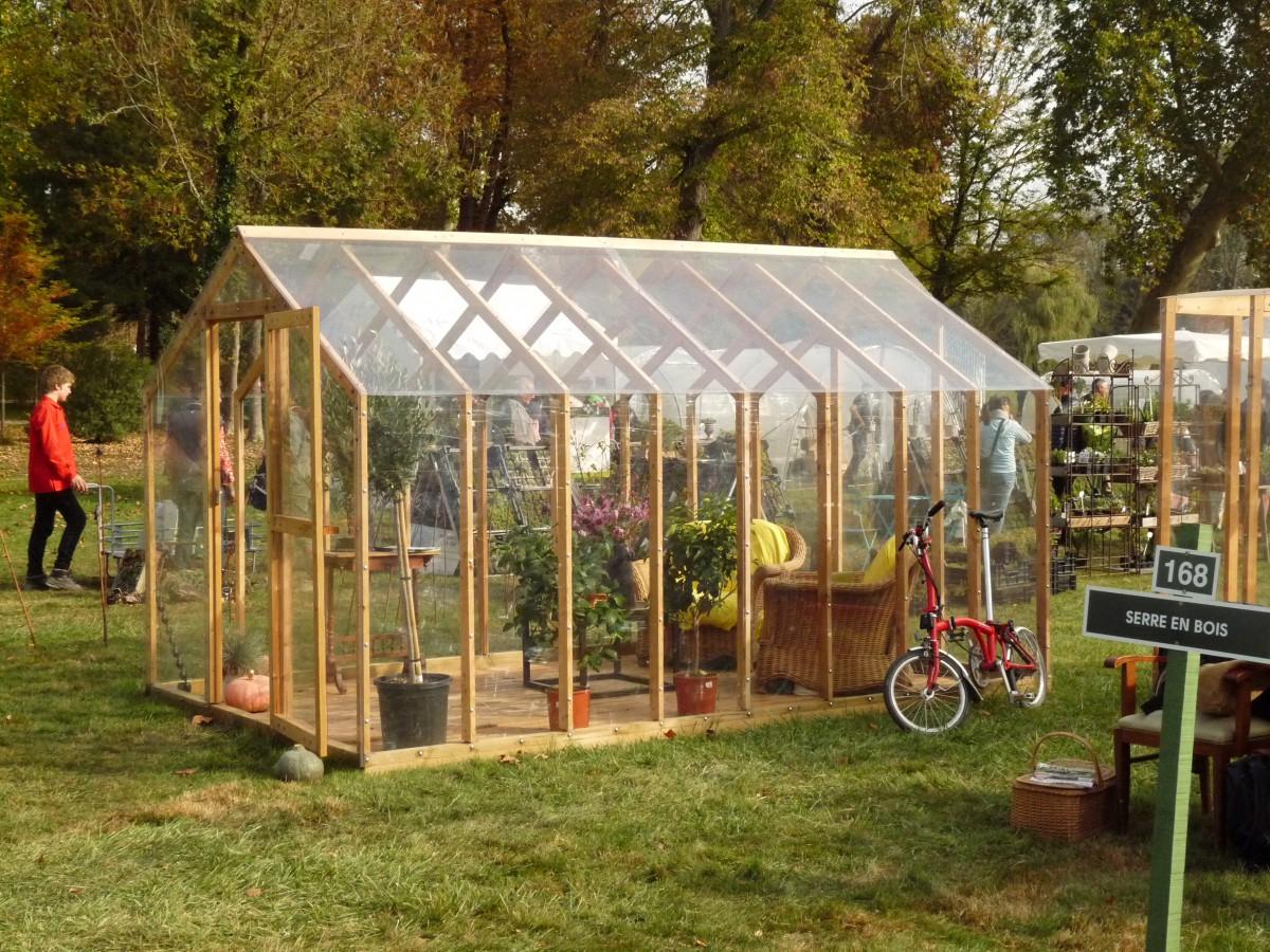 Grand Prix Mon Jardin & Ma Maison : Cléophée, La Serre En ... intérieur Fabriquer Serre De Jardin Polycarbonate