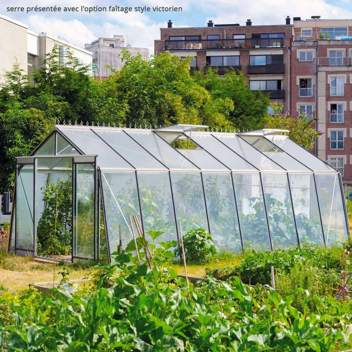 Grande Serre De Jardin Prestige 22.53M2 S208H à Serre De Jardin 18M2