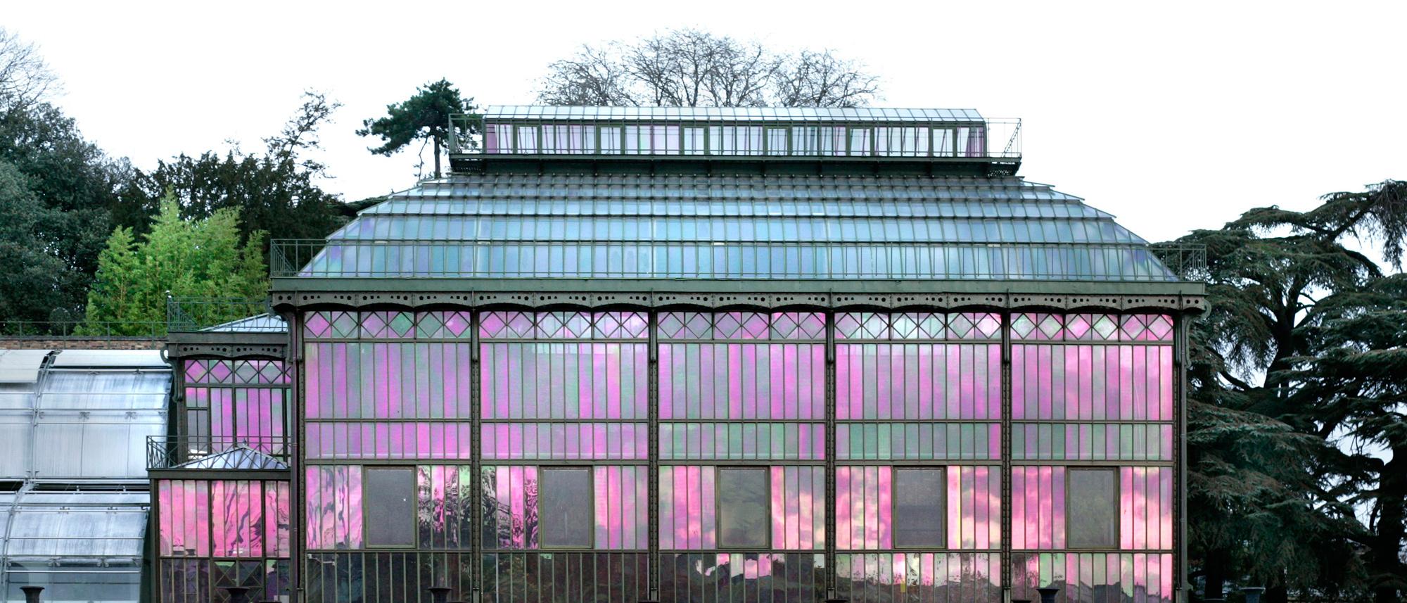 Grandes Serres Du Jardin Des Plantes | Galeries, Jardins ... tout Serres De Jardin D Occasion