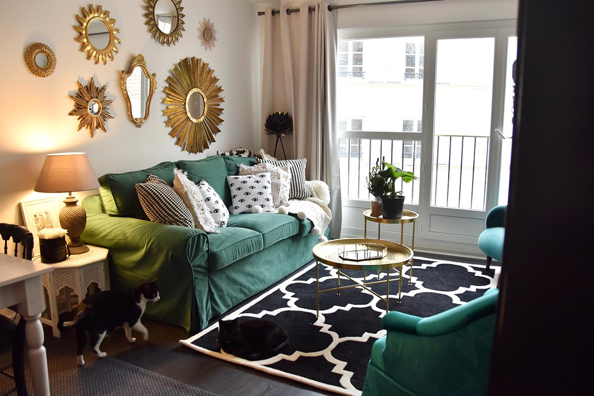 Green Sofa Cover : Relooking De Canapé   Hello It's ... tout Transat Jardin Ikea