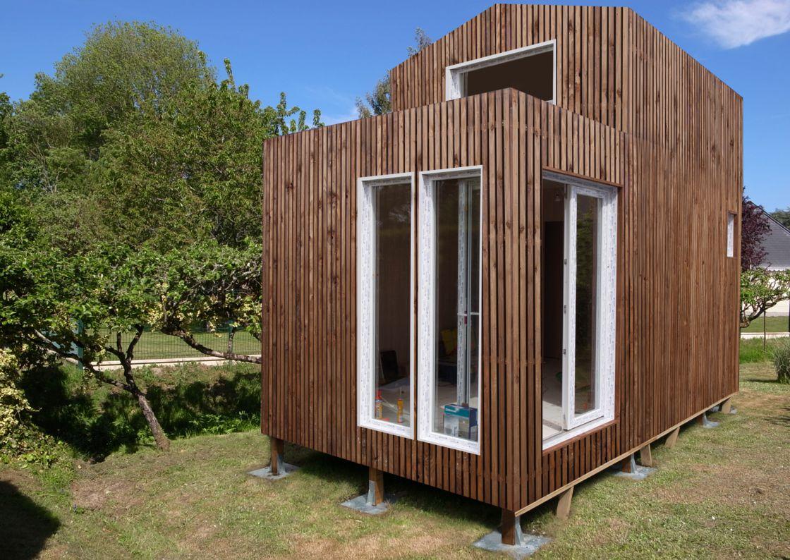 Greenkub : Une Maison Dans Votre Jardin En 48 Heures ... tout Abri De Jardin 30M2