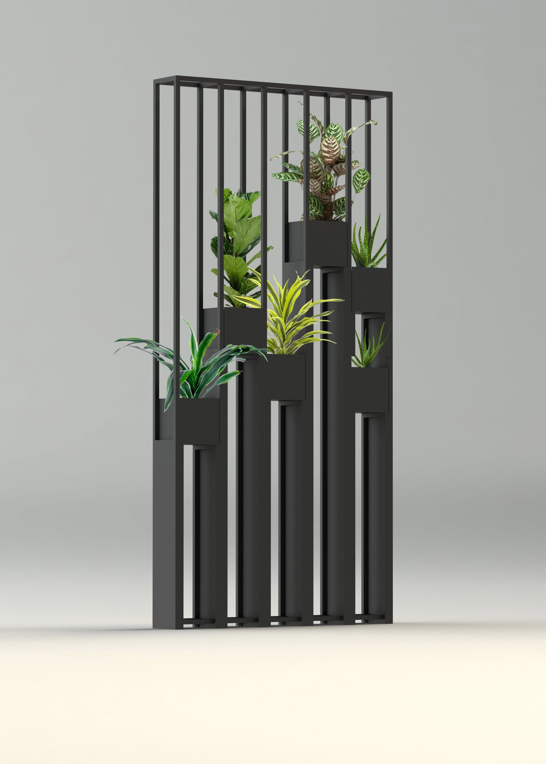 Greentower, Claustra En Métal Pour Séparer Vos Pièces Ou ... avec Cloison Jardin