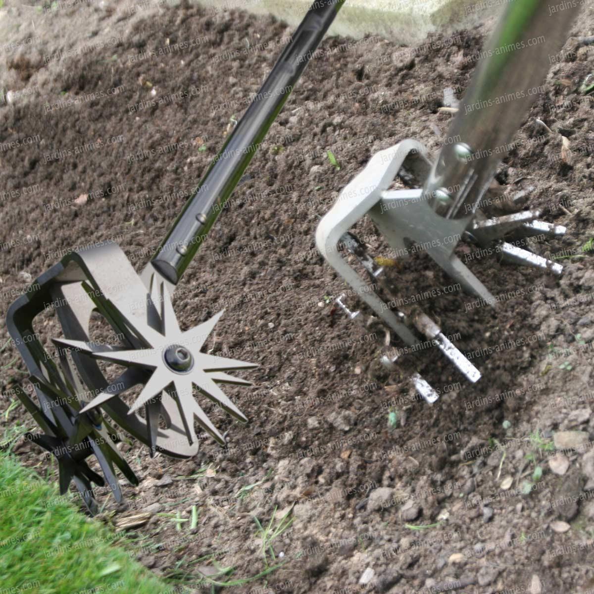 Griffe Rotative Emietteur dedans Griffe Pour Jardin